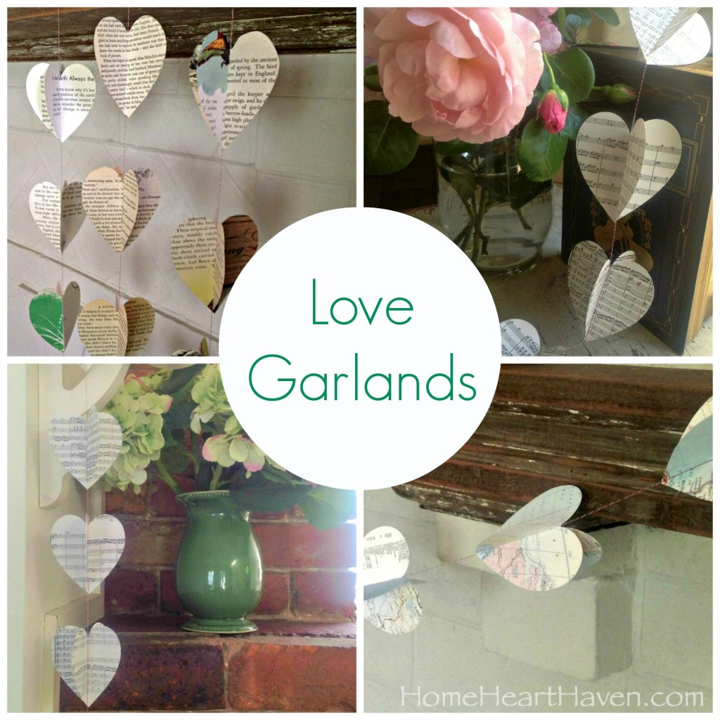 Love Garland Collage