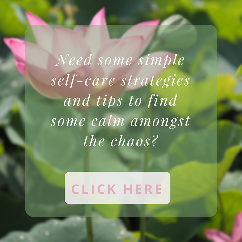 Sign up for self-care tips